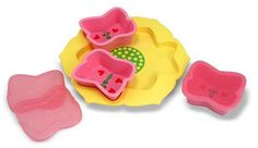 Bella Butterfly Bowls & Tray Set:  Sunny Patch Outdoor Lifestyle Collection