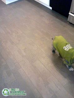 Twilight cork flooring has the look of grey ceramic tile but with the added warmth and comfort of cork floors. See flooring material product specifications, details and testimonial videos with flooring ideas and photographs. - Cali Bamboo