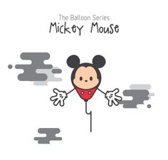The Balloon Series - Mickey Mouse (Reload)