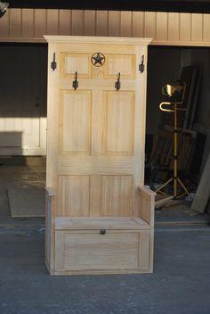 Hall tree - door