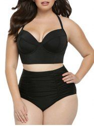 SHARE & Get it FREE | High Waisted Plus Size Bustier BikiniFor Fashion Lovers only:80,000+ Items • New Arrivals Daily • Affordable Casual to Chic for Every Occasion Join Sammydress: Get YOUR $50 NOW!
