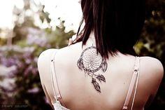 i want a dreamcatcher tattoo :x