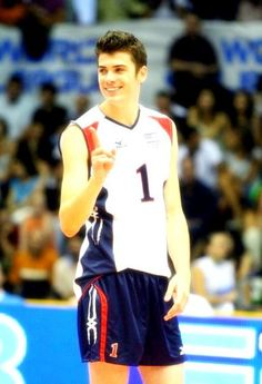 Matt Anderson of the Olympic Team. I feel as though you're the only other person who will understand the attractiveness level of this picture :)