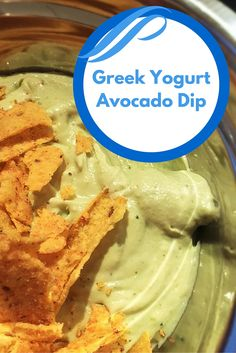 This delicious #Greek yogurt #avocado #dip is so easy to make and you only need a few ingredients. It is amazing with Doritos or similar.
