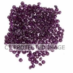 Burgundy Tiny Diamantes | Tableware for Wedding Buffet - Wedding Party Supplies from partypuffin.com... They look purple but are prolly burgundy when you buy them.  Nice for table