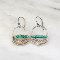 Asmi Pinned Turquoise Oxidized Silver Earrings – Sarah DeAngelo Turquoise Earrings, Silver Earrings, Drop Earrings, Oxidized Silver, Sterling Silver, Shepherds Hook, Indian Tribes, Robins Egg, Small Boxes