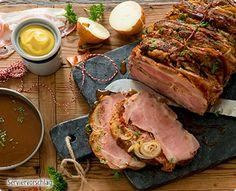 Pork, Recipes, Stuffed Pork Roast, Christmas Meals, Meat, Easy Meals, Food And Drinks, Pork Roulade, Pigs