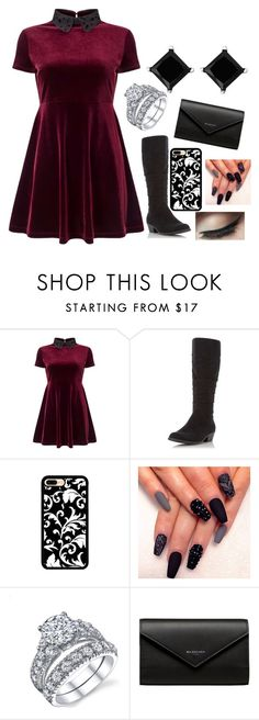 """""""Daria"""" by ashleeramme on Polyvore featuring Miss Selfridge, Dorothy Perkins and Balenciaga"""