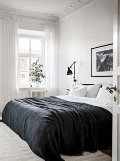 Nice 50 Cozy And Minimalist Bedroom Designs Inspirations Ideas. More at https://homenimalist.com/2018/04/02/50-cozy-and-minimalist-bedroom-designs-inspirations-ideas/