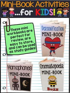 This growing mini-workbooks bundle is a great addition to an elementary classroom, or for slightly older students who might be struggling to understand figurative language.