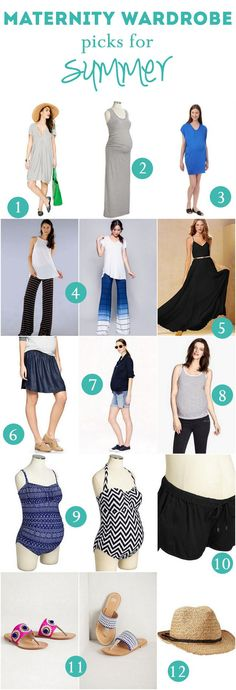 Maternity Wardrobe Summer Clothing Staples