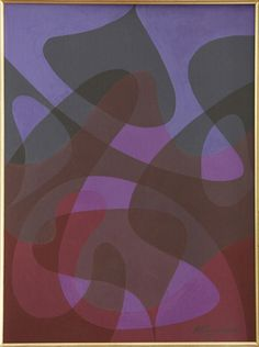 Benjamin Frazier Cunningham (1904-1975), Ultraviolet Hallucination I (1959),