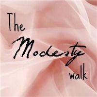 The Modesty Walk. An apostolic pentecostal blog.