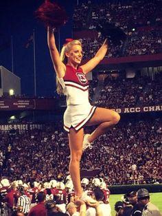 USC Gamecock Cheerleader