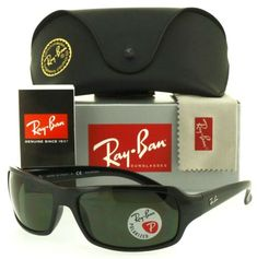 eBay [$129.94] Ray-Ban RB4075 601/58 61mm Black Crystal Green Polarized #RayBan #RayBanSunglasses #Sunglasses #style #Accessories #shopping #styles #outfit #pretty #girl #girls #beauty #beautiful #me #cute #stylish #design #fashion #outfits #diy #design