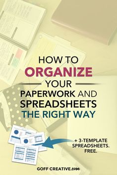 Paperwork looking scary? No worries! Here's a simply system to get you organized and ready for tax time. #business #productivity