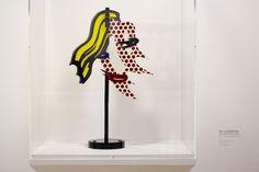 Roy Lichtenstein, Brushtroke Head II, Picasso Mania.
