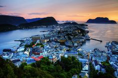 Norway - One photo per day - SkyscraperCity...The Northern city of Alesund