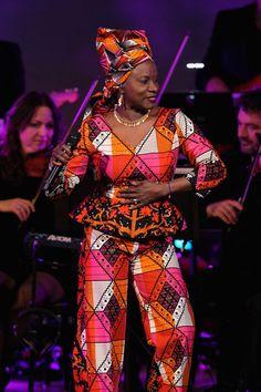Angelique Kidjo Photos - Change Begins Within: A David Lynch Foundation Benefit Concert - Zimbio