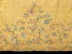 Underskirt Date: fourth quarter 18th century Culture: Czech Medium: silk, cotton, metal Accession Number: 2009.300.2972