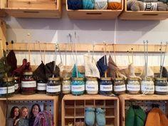 KUKUFRAKAK: Visitando tiendas de lana en Londres