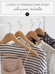 Lücken im Kleiderschrank finden - Kleidungsstil verbessern