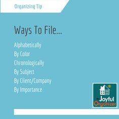 Ways to File