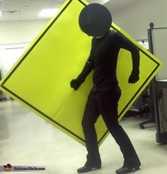 Pedestrian Crossing Sign - 2013 Halloween Costume Contest