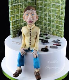 70th for a retired Tiler by Callicious Cakes