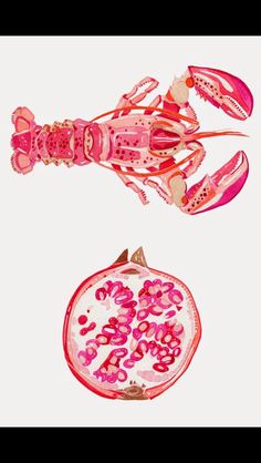 Lobsters and Pomegranate