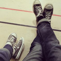 like father like son.all stars High Top Vans, High Tops, High Top Sneakers, Vans Sk8, All Star, Father, Converse, Stars, Instagram
