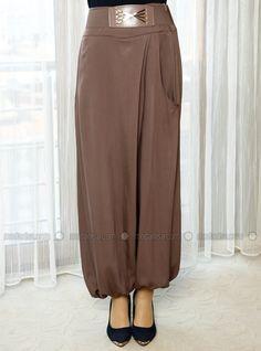 yeni model şalvar pantolon kalıbı modelleri fotoğraflı