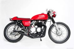 Honda CB550 Cafe Racer by Cafe Creations