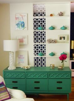 My absolute favorite use of O'verlays is this wall/divider!!!   O'verlays on a…