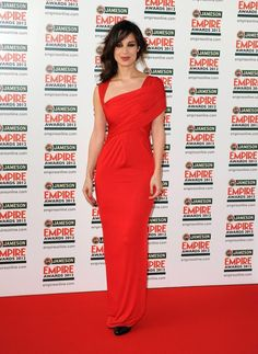 The Empire Awards 2012 were a riot of red and we think that Berenice Marlohe wore it best.