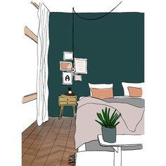 Histor kleur van het jaar Quiet Clearing. Een mooie groene kleur voor een warm en natuurlijk gevoel in het interieur. House Colors, Pastels, Most Beautiful Pictures, More Fun, Bedroom, Projects, Home, Sleeping Beauty, Interiors