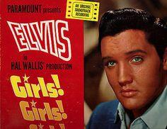 ELVIS PRESLEY LP - GIRLS! GIRLS! GIRLS! SOUNDTRACK  (ORIG. MONO)