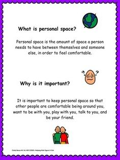 EXPECTED VS. UNEXPECTED: PERSONAL SPACE STORY AND ACTIVITIES - TeachersPayTeachers.com