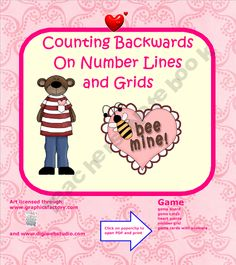 FREE Valentine's Math Interactive Lesson and Printable Game