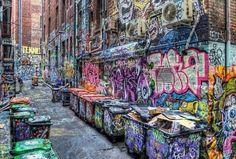 Graffiti Alley - Australia
