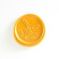 How cute is this robin wax seal created for our client Robin? Quote Collage, Seal Design, Wax Seal Stamp, Aesthetic Stickers, World Of Color, Art Object, Gifts For Kids, Letter Writer, Stationery