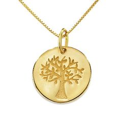 Love, Earth® Family Tree Pendant in 14K Yellow Gold #MIGM