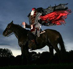 The Headless Horseman @ Conner Prairie. Love this! So fun and scary. Can't wait, every year!