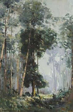The Glade (1907) Arthur Streeton More