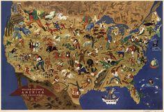 写真少年漂流記: アメリカの民間伝承ヒーローを一瞥する絵地図
