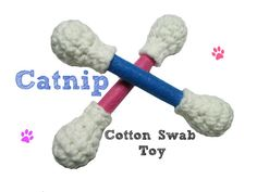 Cotton Swab Catnip Toy by Legendary Pet Toys,