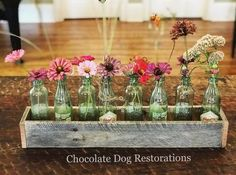 At Chocolate dog restorations we create jaw dropping one of a kind pieces with powder glaze! We also do custom client owned pieces of furniture! Wooden Tool Boxes, Wood Boxes, 12 Drawer Dresser, Wood Box Centerpiece, Flower Centerpieces, Reclaimed Barn Wood, Cheap Home Decor, Decorative Boxes, Rustic