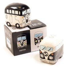 Camper Vans salt & pepper shakers