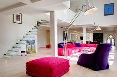 Living room. Loft. DOS Architects.