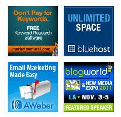 Part time online sfi: cara memasang ads iklan banner afiliasi pada halaman blog